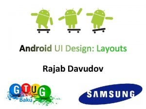 Rajab Davudov What is a Layout A type