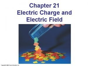 Chapter 21 Electric Charge and Electric Field Copyright