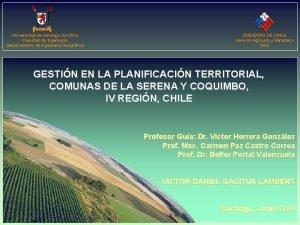 Universidad de Santiago de Chile Facultad de Ingeniera