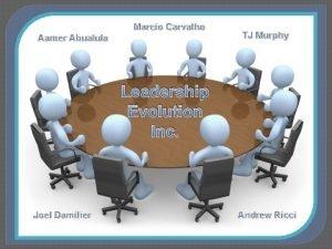 Marcio Carvalho Aamer Abualula TJ Murphy Leadership Evolution