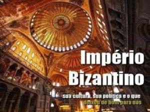 IMPRIO BIZANTINO Imprio Romano do Oriente Sobreviveu s