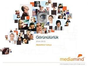 Grnlrlk Ekim 2012 Media Mind Turkiye 2012 Media