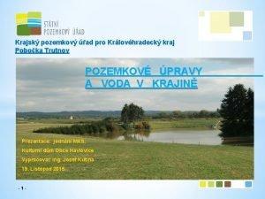 Krajsk pozemkov ad pro Krlovhradeck kraj Poboka Trutnov