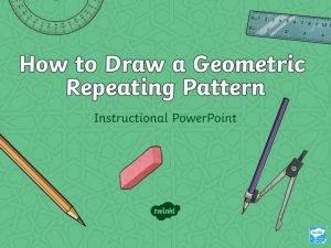 Shapes In Islamic Art Instructions Equipment Islamic Geometric