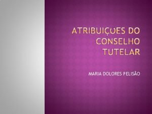 MARIA DOLORES PELISO PARTICIPAO COMUNITRIA PARA PROTEO INTEGRAL