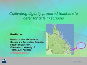 Cultivating digitally prepared teachers to cater for girls