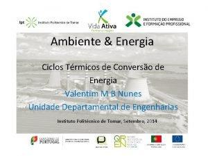 Ambiente Energia Ciclos Trmicos de Converso de Energia