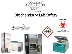 Biochemistry Lab Safety 1 PPE Personal Protective Equipment