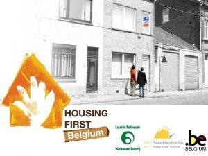 1 Housing First Belgium Origines HFB Origines Dcembre