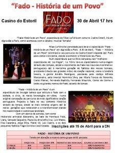 Fado Histria de um Povo Casino do Estoril