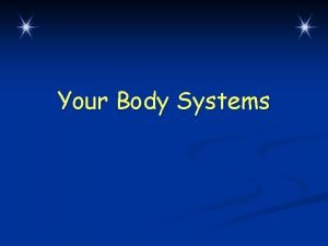 Your Body Systems WarmUp Questions CPS Questions 1
