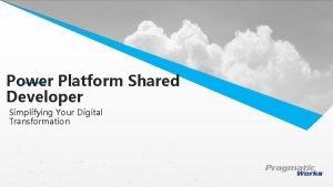Power Platform Shared This is a Header Developer