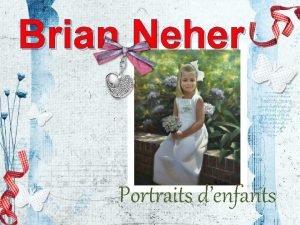 Brian Neher Portraits denfants Brian Neher N Alexandrie