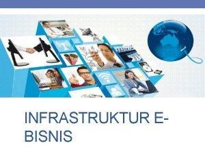 INFRASTRUKTUR EBISNIS Infrastruktur Dasar EBisnis Infrastruktur ebisnis adalah
