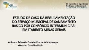 ESTUDO DE CASO DA REGULAMENTAO DO SERVIO MUNICIPAL