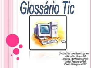 ndice Informtica Tecnologias de informao e comunicao Informao