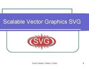Scalable Vector Graphics SVG Tinosch Ganjineh Christian v