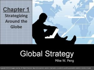 Chapter 1 Strategizing Around the Global Strategy Mike
