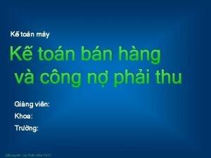 K ton my K ton bn hng v