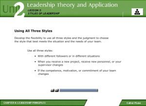 LESSON 2 STYLES OF LEADERSHIP CHAPTER 6 LEADERSHIP
