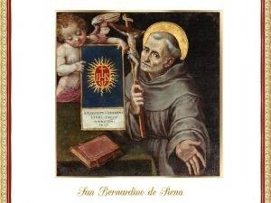 San Bernardino de Siena naci el 8 de