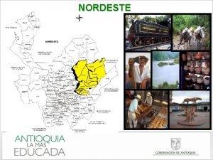 NORDESTE PIRAMIDE POBLACIONAL Pirmide poblacional Nordeste Antioquia 2011