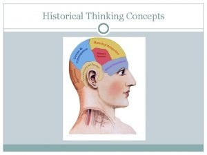 Historical Thinking Concepts Historical Thinking Concepts ADAPTED FROM