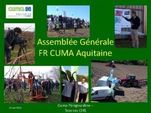 Assemble Gnrale FR CUMA Aquitaine 19 juin 2014