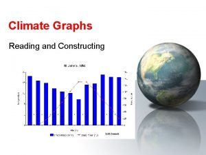 Climate Graphs Reading and Constructing Climate Graphs Climate