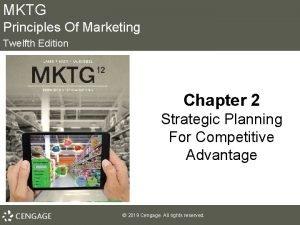MKTG Principles Of Marketing Twelfth Edition Chapter 2