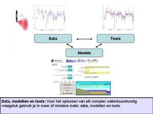 Data Tools Models Data modellen en tools Voor
