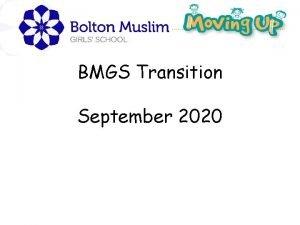 BMGS Transition September 2020 Opening prayer Auzu billahi