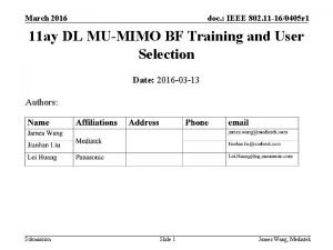 March 2016 doc IEEE 802 11 160405 r