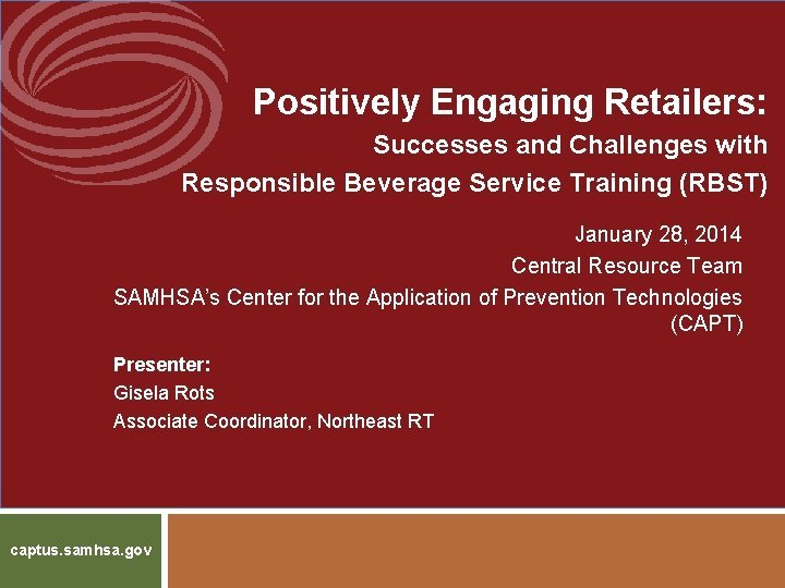 Positively Engaging Retailers Successes and Challenges with Responsible