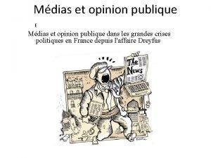 Mdias et opinion publique E Mdias et opinion