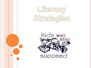Literacy Strategies LEVELED LITERACY INTERVENTION LLI LEVELED LITERACY