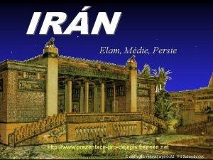 Elam Mdie Persie http www prezentaceprodejepis freeeee net