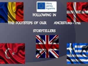 FOLLOWING IN THE FOOTSTEPS OF OUR ANCESTORS THE