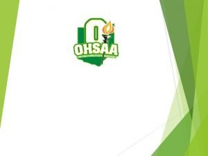 Ohio High School Athletic Association Wrestling Weight Management