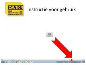 Instructie voor gebruik JCI accreditatie en jij Doel