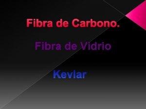Fibra de Carbono Fibra de Vidrio La fibra