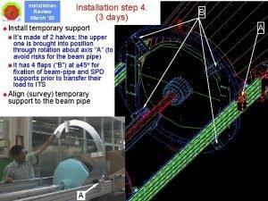 Installation Review March 03 u Installation step 4