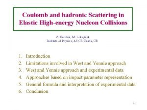Coulomb and hadronic Scattering in Elastic Highenergy Nucleon