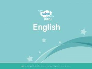 English Year One English I Year 3 I