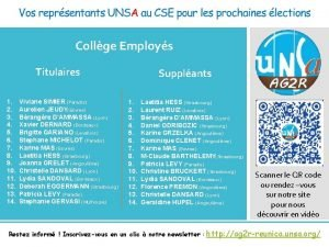 Collge Employs Titulaires 1 2 3 4 5