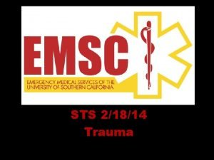 STS 21814 Trauma Skull fractures Bleeding Loosely cover