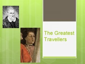The Greatest Travellers Marco Polo Early life and