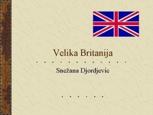 Velika Britanija Sneana Djordjevic Mapa Velike Britanije Kruna