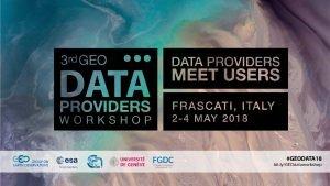 GEOSS Platform Users Metrics Stefano Mattia CNRIIA Guido