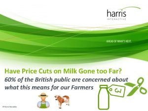 Have Price Cuts on Milk Gone too Far